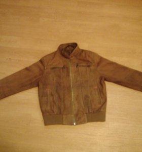 #Куртка детская кожаная , размер: 116 - 140