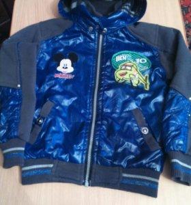 Куртка для мальчика 5-7 лет.