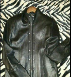 Женская Кожаная куртка (44-48)