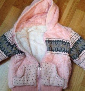 Курточка для девочки 89529926438
