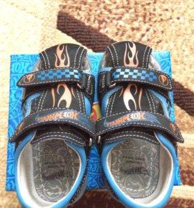 Туфли летние открытые для мальчика