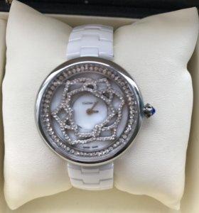 Керамические часы женски