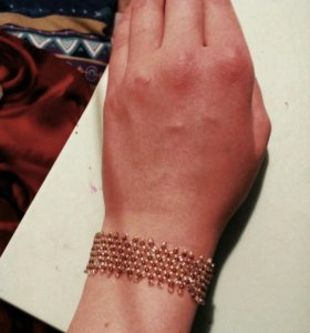 Плетёный браслет