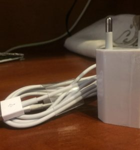 адаптер и кабель на iphone 6