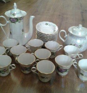 Чайно-кофейный сервиз на 12 персон
