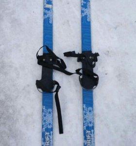 Детский лыжи