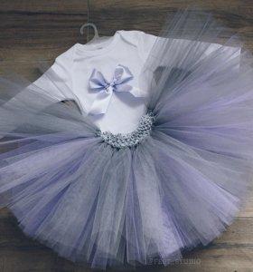 Комплект юбка пачка и боди