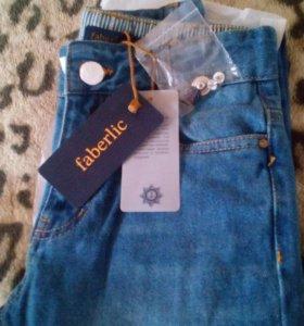 Новые джинсы для мальчика 134 размер Фаберлик