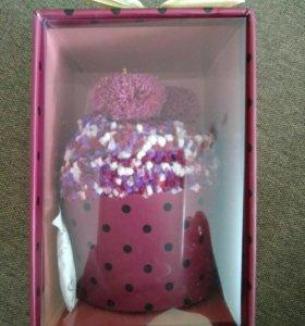 Новые женские носки Капкейк в подарочной упаковке