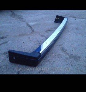 Накладка заднего бампера 2107 БУ сталь
