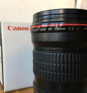 Canon 135 mm f/2.0L