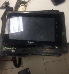 Запчасти на китайские планшеты и телефоны, ремонт