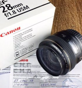 Canon 28 f/1.8