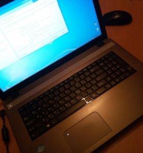 Срочно! Игровой ноутбук DNS, в отличном состоянии.