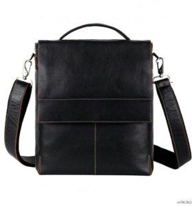 Мужская сумка из натуральной кожи (Италия)