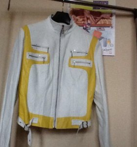 Куртка кожаная 48-50 р