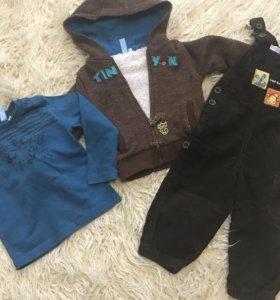 Комплект одежды рост 80
