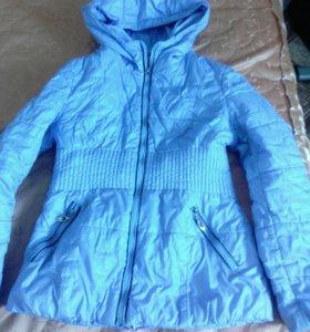 Куртка на девочку 7-8лет