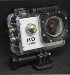 Новая Экшен-камера Sports SJ4000 + 17 креплений с Доставкой