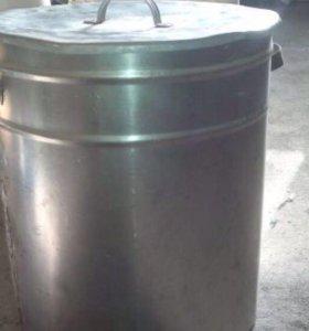 Бочка из пищевой нержавейки, толщина металла-2 мм,