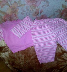 Одежда на девочку с 0 до 1.5 лет