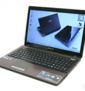 Мощный ноутбук Asus, Core i3