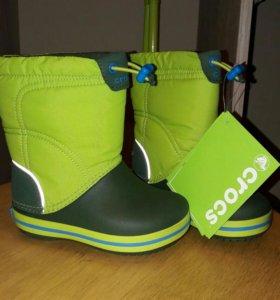 Новые сноубутсы crocs кроксы