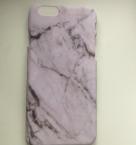 Мраморный чехол на iPhone 6/6s айфон