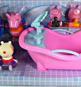 Свинка Пеппа и ванна