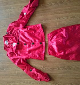 Лёгкий плащ-куртка