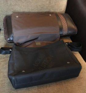Louis Vuitton Оригинальная мужская сумка/портфель