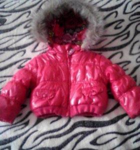 Детская курточка бу