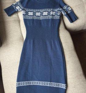 Платье Sela из плотного трикотажа