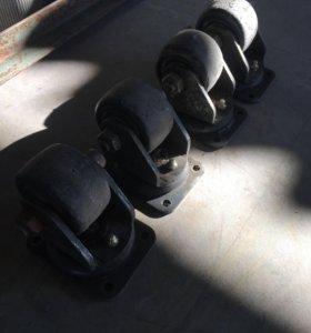 Ролики для складской тележки
