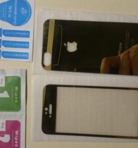 Стекла защитные айфон5s