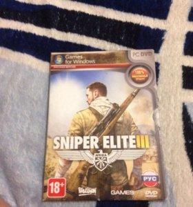Диск sniper elite 3