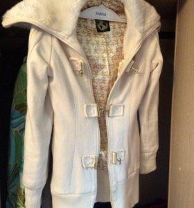 Adidas кофта-пальто xs