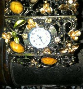 Элитный браслет с кристаллами Сваровски