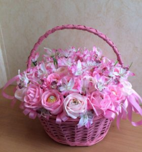 Букет из конфет Розовые сны