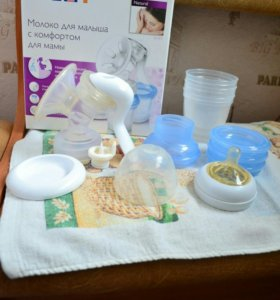 Ручной молокоотсос Philips Avent (+подарок)
