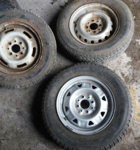 Резина и колеса