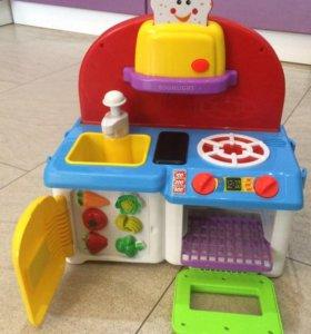 Детская мини кухня Boomlight БРОНЬ