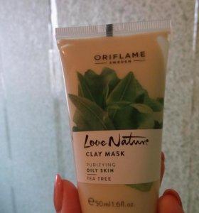 Очищающая маска с глиной Oriflame