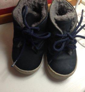 Zara baby ботиночки