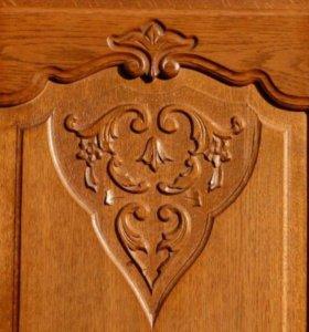 Старинный шкаф комод Бельгия