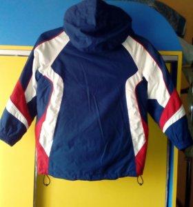 Куртка спортивная, теплая