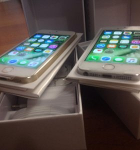 iPhone 5s 16gb Gold, Silver
