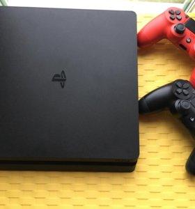 PlayStation 4[500 gb] 1джойстик и 3 диска