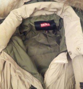 Куртка пуховик мужКолинс оригинал бу 1300 руб