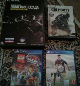 Диски пк и PS4